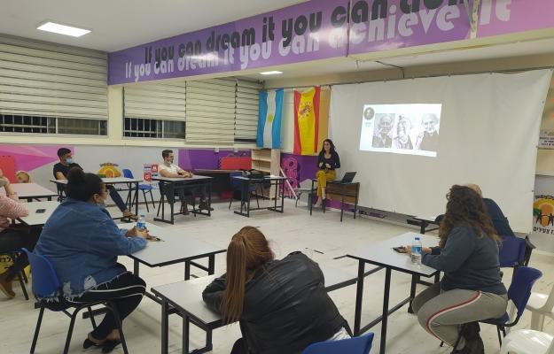MAs mentoring BAs' activity in Akko